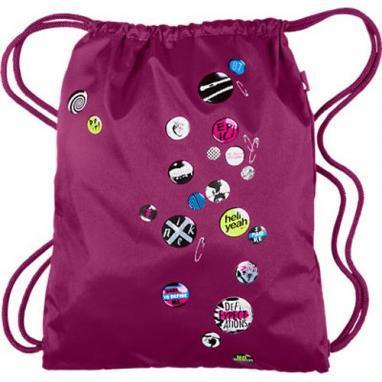 Рюкзак женский Nike Graphic Play Gymsack розовый