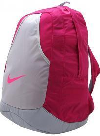 Фото 1 к товару Рюкзак городской женский Nike Varsity Girl Backpack малиновый/серый