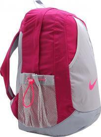 Фото 2 к товару Рюкзак городской женский Nike Varsity Girl Backpack малиновый/серый