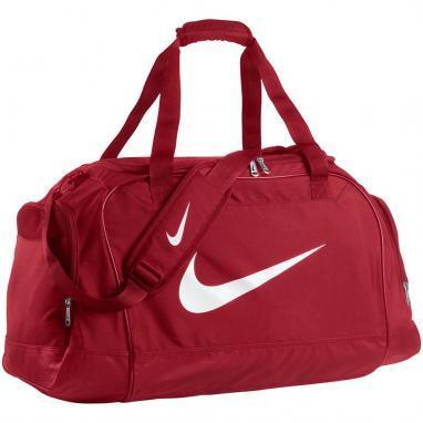 Сумка спортивная Nike Club Team Small Duffel красная