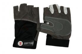 Перчатки для фитнеса Zelart BC-3544 серые - L