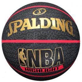Мяч баскетбольный резиновый Spalding Highlight Red Outdoor 73904Z №7
