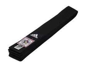 Пояс для кимоно Adidas Elite IJF черный