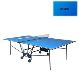 Стол теннисный складной для помещений Gk-4 cиний