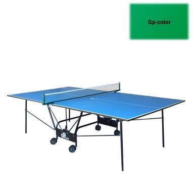 Стол теннисный складной для помещений Gp-4 зеленый