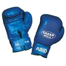 Перчатки боксерские Green Hill Abid синие