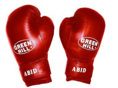Перчатки боксерские Green Hill Abid красные