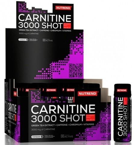 Жиросжигатель Nutrend Carnitinе 3000 Shot (60 мл)