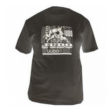 Футболка Green Hill Judo TSJ-3602 черная