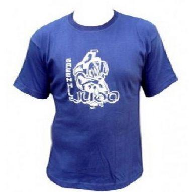 Футболка Green Hill Judo TSJ-3557 синяя