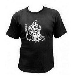 Фото 1 к товару Футболка Green Hill Judo TSJ-3557 черная