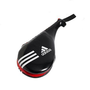 Ракетка (хлопушка) для тхэквондо двойная Adidas черная (1 шт ... 4548ab0b58f69