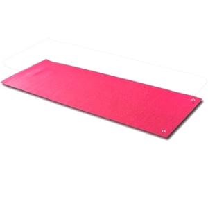 Коврик для йоги (йога-мат) с отверстиями TapiGym Sveltus 5 мм красный