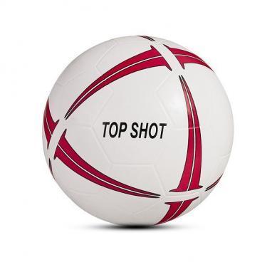 Мяч футбольный Rucanor Topshot резиновый белый