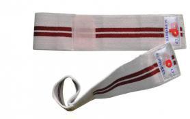 Суппорт запястья Matsa MA-0029 белый с красным (2 шт)