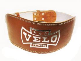 Пояс штангиста кожаный широкий Velo