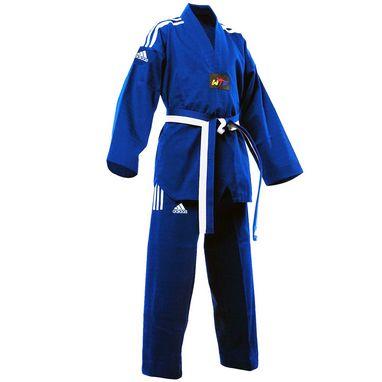 Кимоно для тхэквондо Adidas Champion Uniform синее (добок)