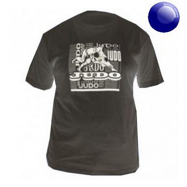 Футболка Green Hill Judo TSJ-3602 синяя