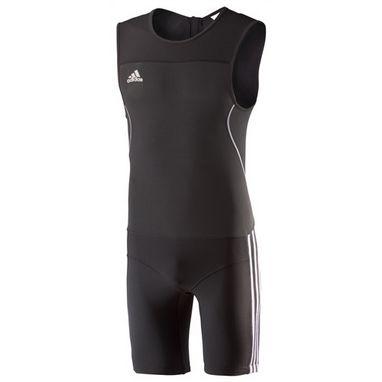Комбинезон для тяжелой атлетики Adidas WL CL SUIT M черный