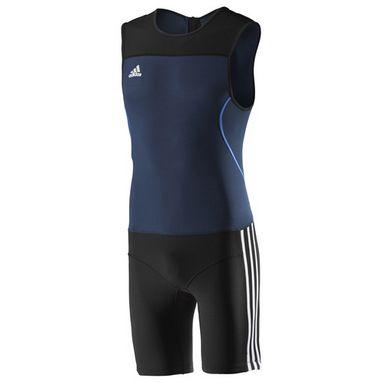Комбинезон для тяжелой атлетики Adidas WL CL SUIT M синий