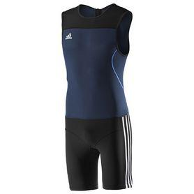 Фото 1 к товару Комбинезон для тяжелой атлетики Adidas WL CL SUIT M синий