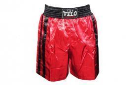 Трусы боксерские Velo VL-8110 красные - M