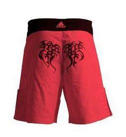 Фото 2 к товару Шорты для MMA Adidas Tribal ADICSS46 красные