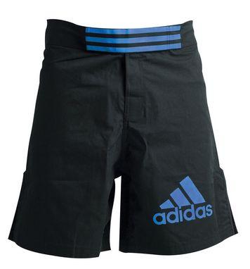Шорты для ММА Adidas Boxing Shorts ADICSS43 черно-синие