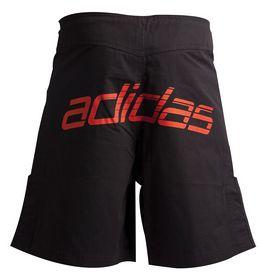 Фото 2 к товару  Шорты для ММА Adidas Boxing Shorts ADICSS43 черно-красные