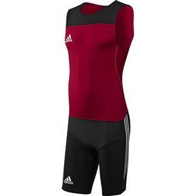 Комбинезон для тяжелой атлетики Adidas Power WL Suit M красный
