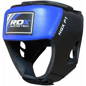 Фото 2 к товару Шлем боксерский RDX Blue new