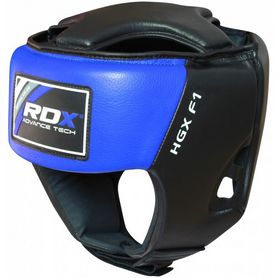 Фото 6 к товару Шлем боксерский RDX Blue new