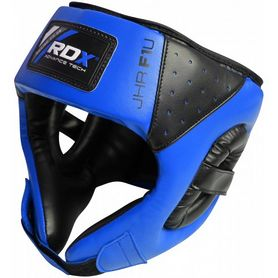 Фото 1 к товару Шлем боксерский детский RDX Blue