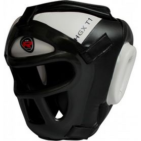 Шлем боксерский тренировочный RDX Guard White