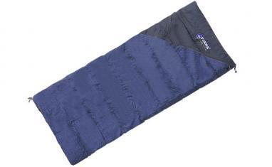 Мешок спальный (спальник) Terra Incognita Campo 200 синий-серый