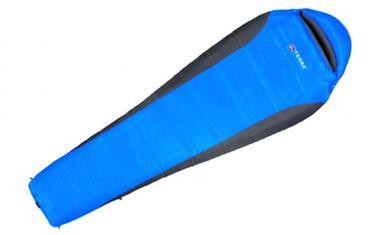 Мешок спальный (спальник) Terra Incognita Siesta 200 левый синий-серый