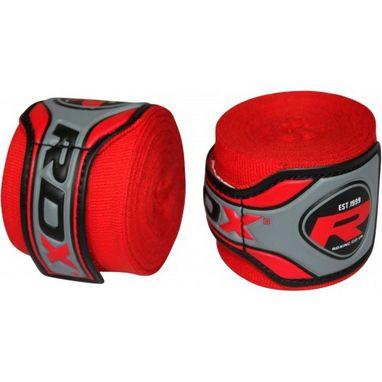 Бинт боксерский RDX Fibra Red (4,5 м)