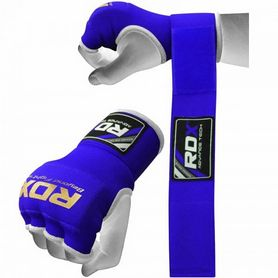Фото 2 к товару Бинт-перчатка RDX Inner Gel Blue (2 шт)