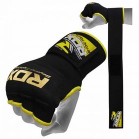 Фото 2 к товару Бинт-перчатка RDX Inner Gel Black (2 шт)
