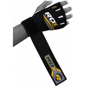Фото 3 к товару Бинт-перчатка RDX Neopren Gel Yellow