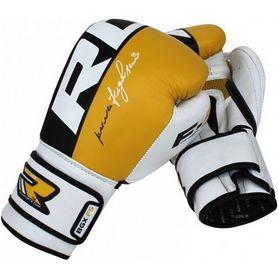 Перчатки боксерские RDX Yellow Pro