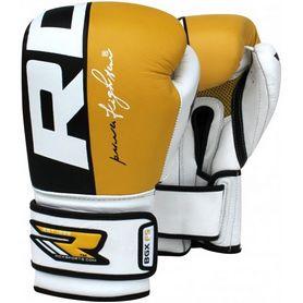Фото 2 к товару Перчатки боксерские RDX Yellow Pro