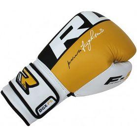 Фото 3 к товару Перчатки боксерские RDX Yellow Pro