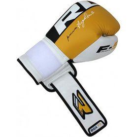 Фото 4 к товару Перчатки боксерские RDX Yellow Pro