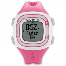 Спортивные часы Garmin Forerunner 10 розовые с белым