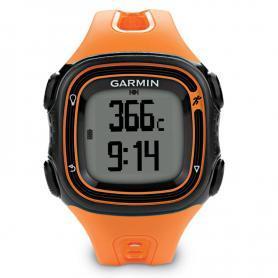 Спортивные часы Garmin Forerunner 10 оранжевые с белым