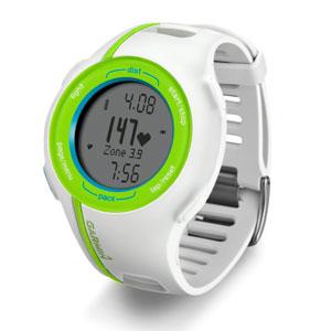Фото 2 к товару Спортивные часы Garmin Forerunner 210 HR белые с салатовым