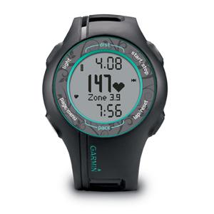 Фото 1 к товару Спортивные часы Garmin Forerunner 210 HR черные с бирюзовым