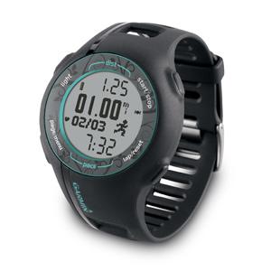 Фото 2 к товару Спортивные часы Garmin Forerunner 210 HR черные с бирюзовым
