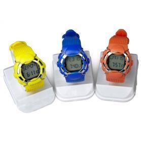 Фото 1 к товару Пульсотахограф - наручные часы профессиональный HRM-2518 желтый